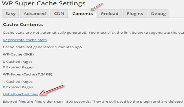WP Super Cache là gì? Nơi lưu trữ các trang đã được tạo cache