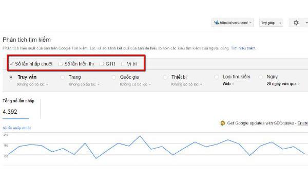 Google Webmaster Tools là gì? Search Queries Reports cho phép người dùng tổng kết được những thông số quan trọng trong quản lý trang web