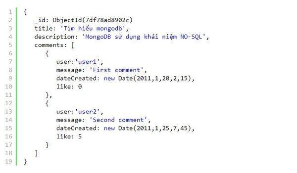 MongoDB là gì? Cách lưu trữ theo hướng tài liệu trong Mongo