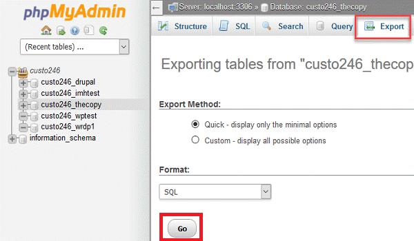 phpMyAdmin là gì? Cách sao lưu cơ sở dữ liệu trong phpMyAdmin