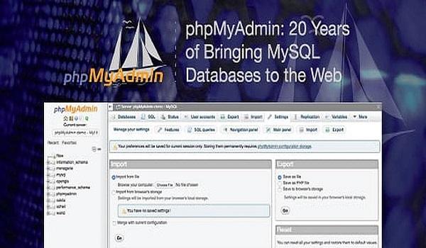 phpMyAdmin mang đến nhiều lợi ích cho công tác quản lý