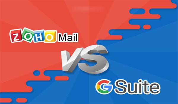 Đánh giá Zoho Mail và G Suite