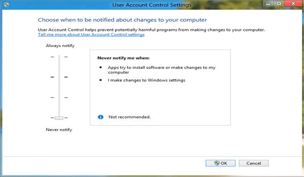 AppServ là gì? Kéo thanh trượt xuống để tắt hoàn toàn tính năng