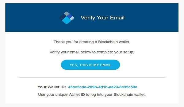 Xác thực lại tài khoản trong hộp thư email
