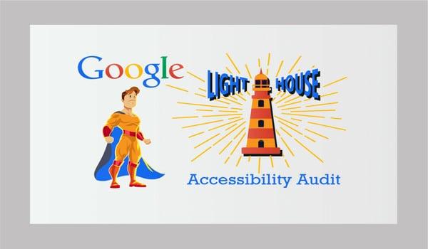 Lighthouse cũng giúp bạn đánh giá điểm cho Accessibility
