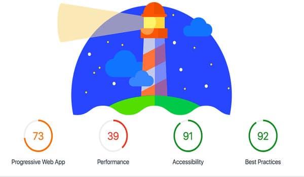 Bạn có thể cài đặt Lighthouse Extension trên Google Chrome