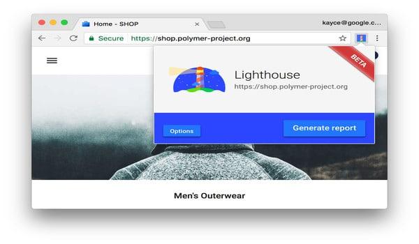 Google Lighthouse là gì? Chạy Lighthouse bằng Chrome Extension