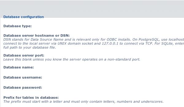 phpbb là gì? Cập nhật thông tin cơ sở dữ liệu đã tạo