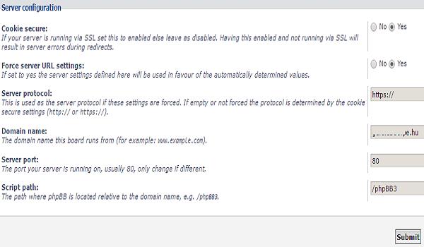 phpbb là gì? Chú ý kiểm tra chứng chỉ SSL trước khi cấu hình server