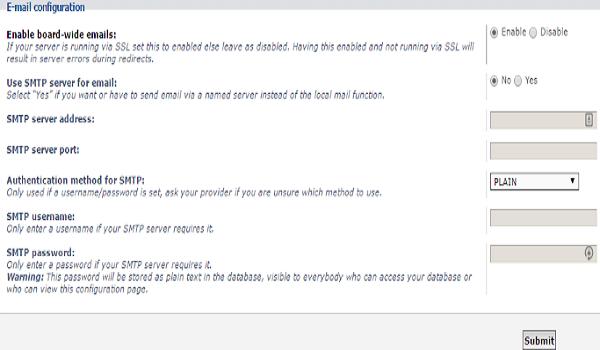 phpbb là gì? Chỉ sử dụng cài đặt này khi đã có chứng chỉ SSL Certificate