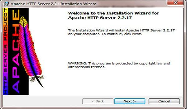 Cài đặt webserver Apache Httpd