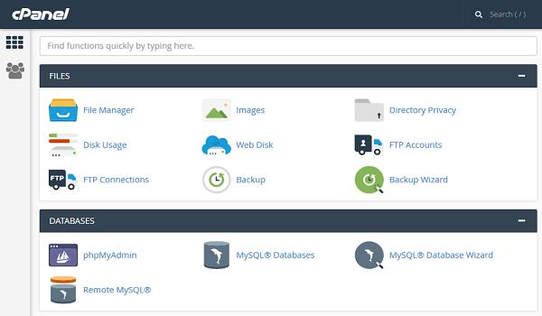phpBB là gì? Tạo cơ sở dữ liệu bằng hosting Cpanel