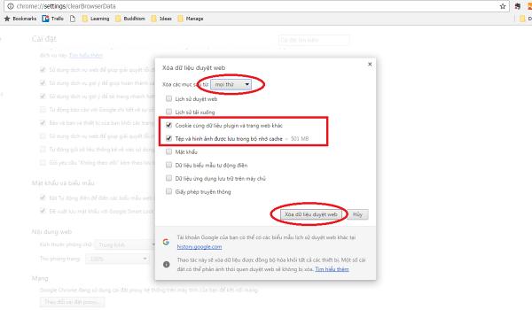 Cache là gì? Xoá cache trên trình duyệt Chrome