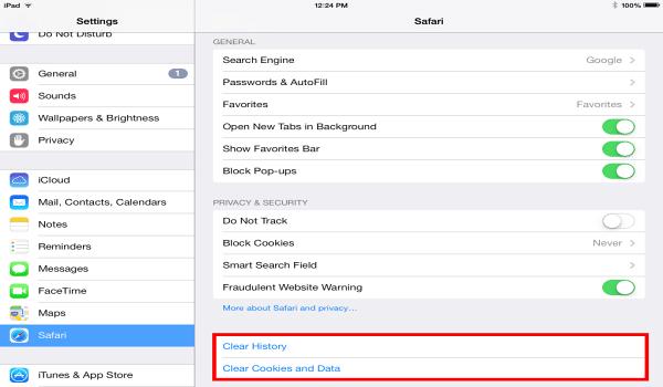 Cache là gì? Xoá cache Safari trên máy tính sử dụng hệ điều hành iOS