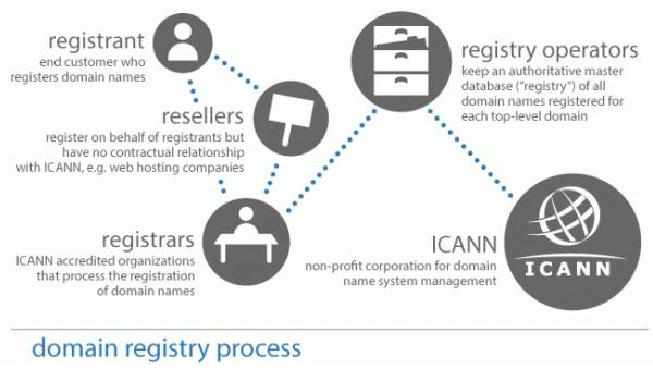 ICANN là gì? Những chủ thể trong ICANN tương tác lẫn nhau