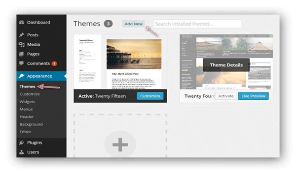 Theme WordPress là gì? Nó hỗ trợ cài đặt theme ngay trong trang quản trị
