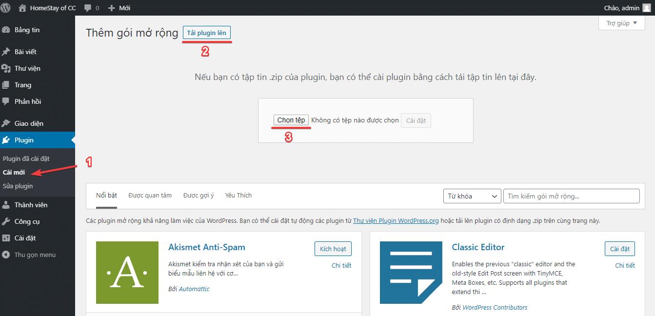WP Helper là gì? Tải và cài đặt plugin từ thư viện WordPress.org