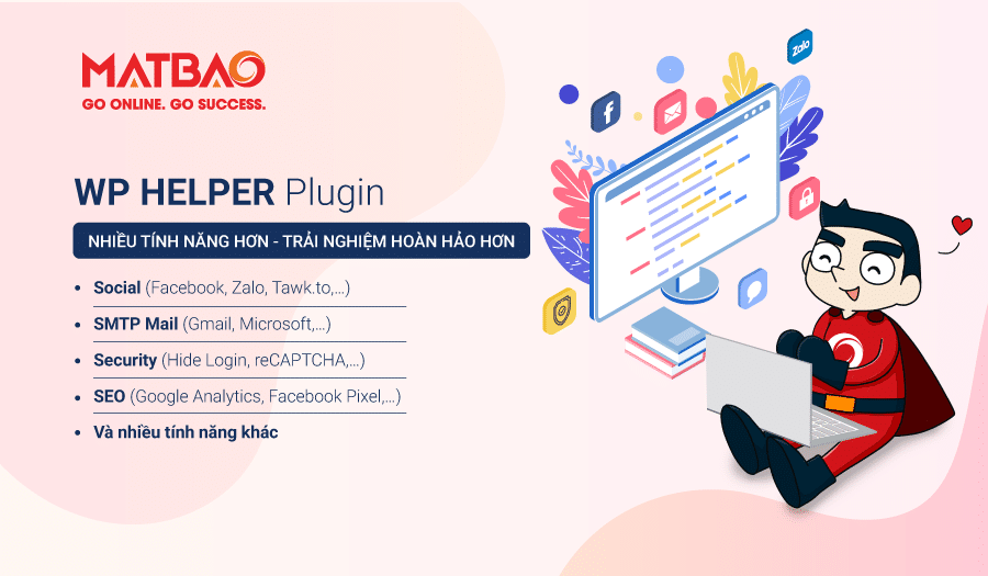 WP Helper là gì? WP Helper là gì? Plugin tối ưu WordPress hiệu quả từ Mắt Bão