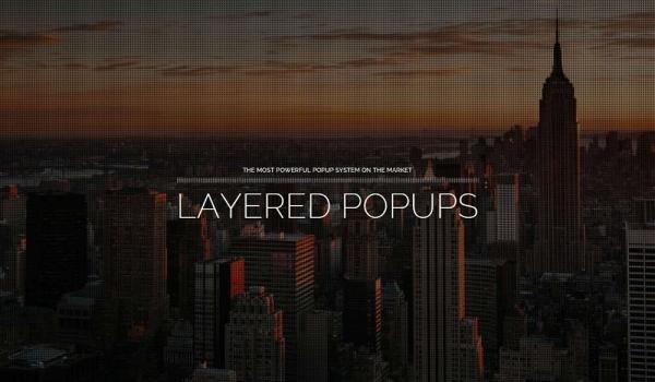 Plugin Popup WordPress Layered Popups tạo ra các Popup cực kỳ thu hút