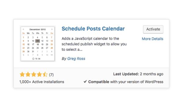 Post WordPress là gì? Cung cấp bộ lịch Javascript cho thao tác tiện lợi hơn