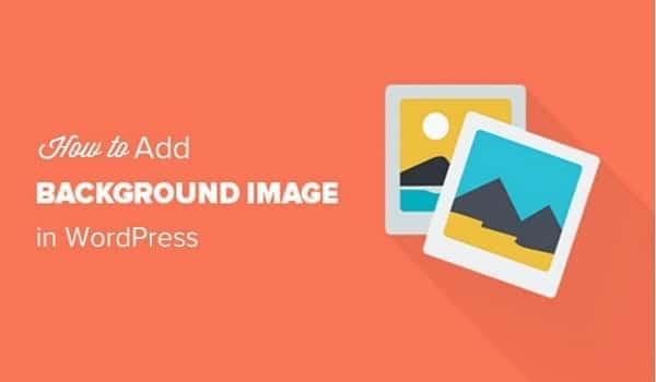 Background Image dùng để thay đổi ảnh nền website