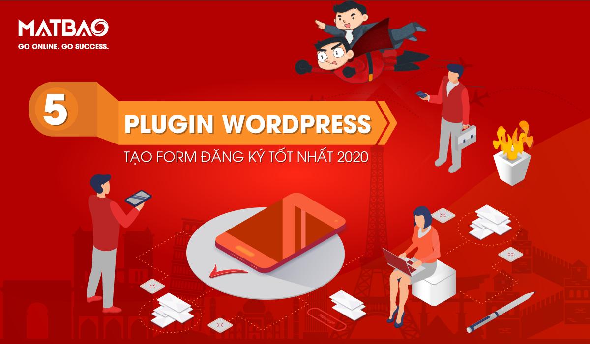 Plugin tạo Forn WordPress - Sử dụng Plugin WordPress giúp bạn thiết kế và tạo biểu mẫu đơn giản hơn