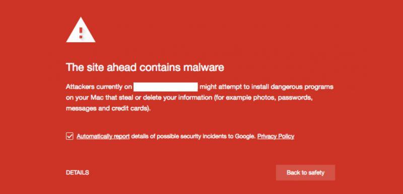 Cảnh báo lừa đảo/ website chứa mã độc khi truy cập