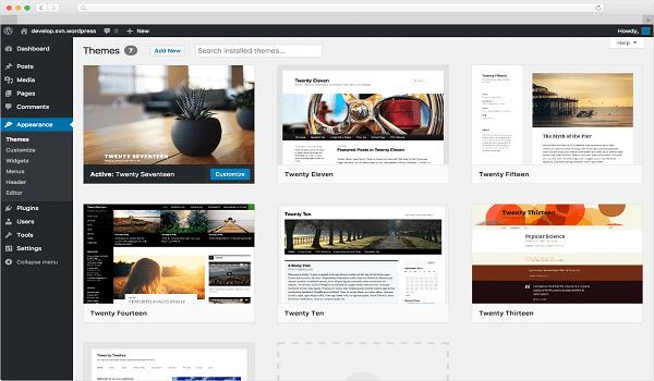 Tạo website bằng WordPress là lựa chọn miễn phí và phổ biến hiện nay