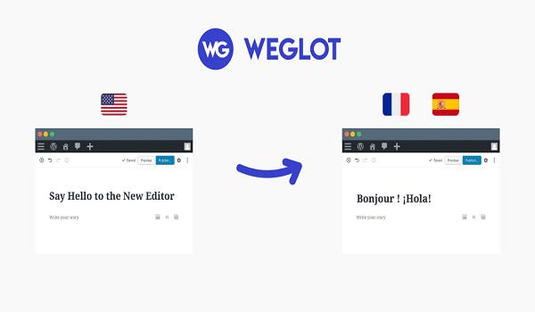 Plugin dịch WordPress chuyên nghiệp mang tên Weglot