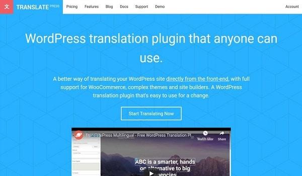 Translate Press là công cụ đơn giản dễ sử dụng cho mọi đối tượng