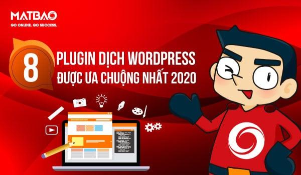 Sử dụng Plugin dịch WordPress giúp trang web của bạn hiển thị đa ngôn ngữ tối ưu hơn