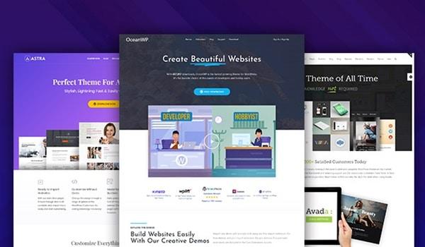 Doanh nghiệp phải liên tục xem xét và thử nghiệm các phiên bản khác nhau để tìm ra theme WordPress phù hợp nhất với dịch vụ của mình