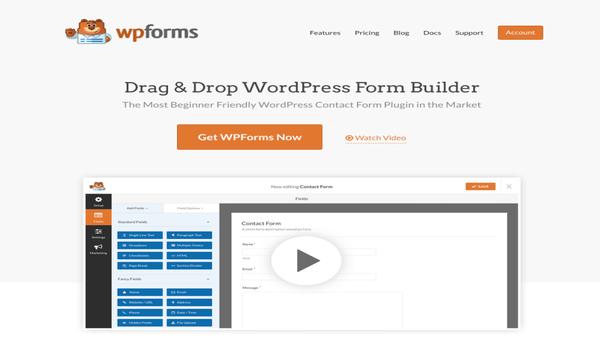 Plugin WPForms là lựa chọn tối ưu cho doanh nghiệp của bạn