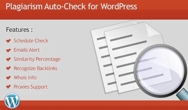 7 Plugin WordPress kiểm tra đạo văn Plagiarism Checker tốt nhất -Plagiarism Auto-Check là plugin rất phổ biến trên WordPress