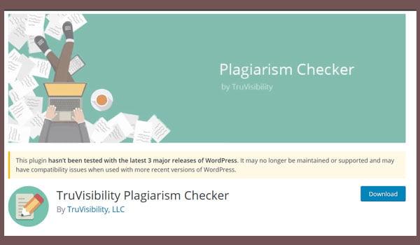 TruVisibility Plagiarism Checker cho phép bạn thêm widget ở bất kỳ đâu trên website