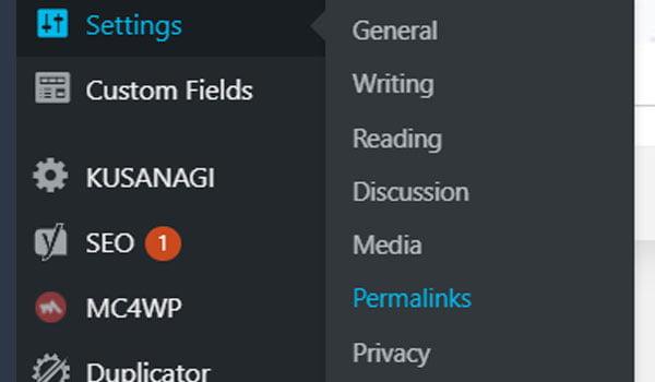 settings wordpress là gì