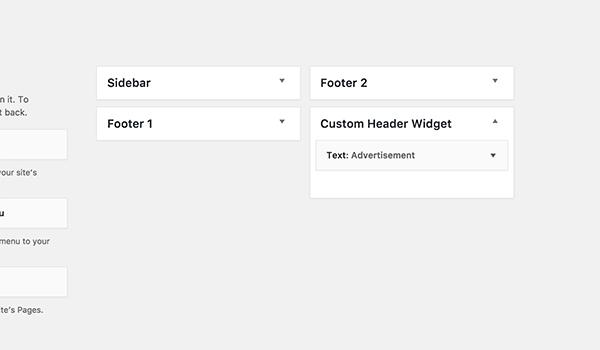 Cách tùy chỉnh WordPress - Widget mới xuất hiện sau khi chèn code vào file function.php