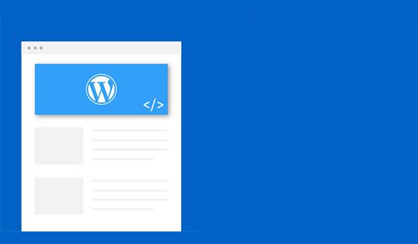 Cách tùy chỉnh WordPress - Header và Footer được cung cấp tùy chỉnh có sẵn