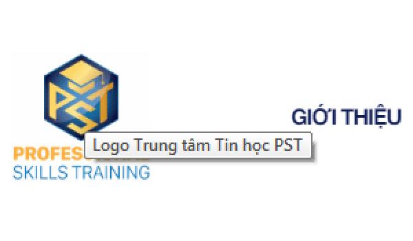 Rê chuột vào logo trên trình duyệt web để xem tên của logo