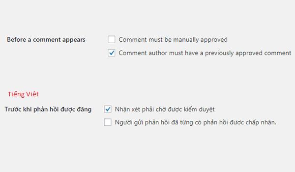 Comments WordPress là gì? Xét duyệt bình luận trên WordPress để tránh rủi ro spam