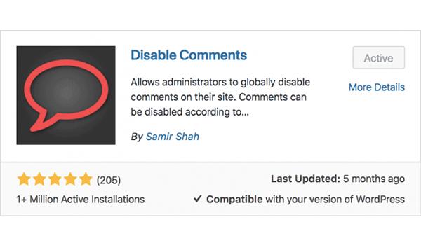 Plugin tắt tính năng comments WordPress là gì?