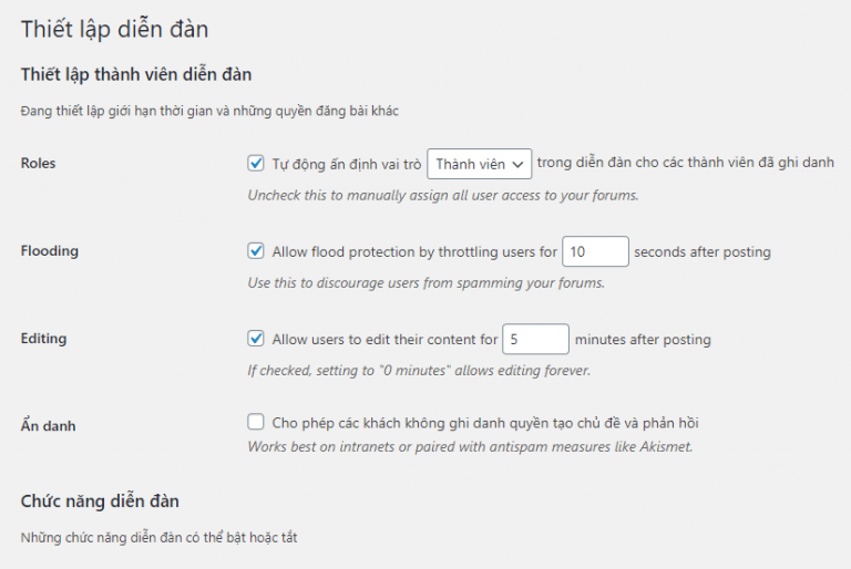 forums - Diễn đàn là gì? Hướng dẫn sử dụng diễn dàn với bbPress - Trung tâm hỗ trợ kỹ thuật