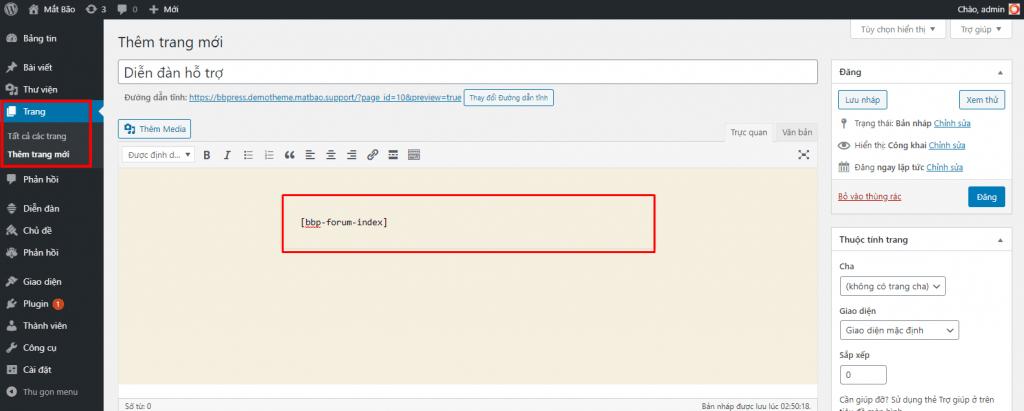 index bbpress home 1024x411 - Diễn đàn là gì? Hướng dẫn sử dụng diễn dàn với bbPress - Trung tâm hỗ trợ kỹ thuật