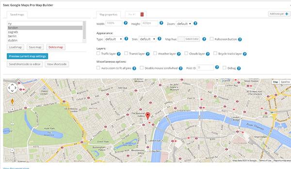 plugin wordpress tạo google maps tốt nhất