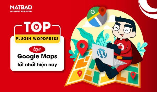 plugin wordpress tạo google maps