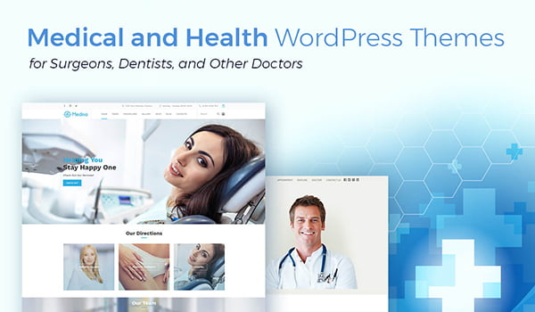 những theme wordpress y tế chuẩn seo