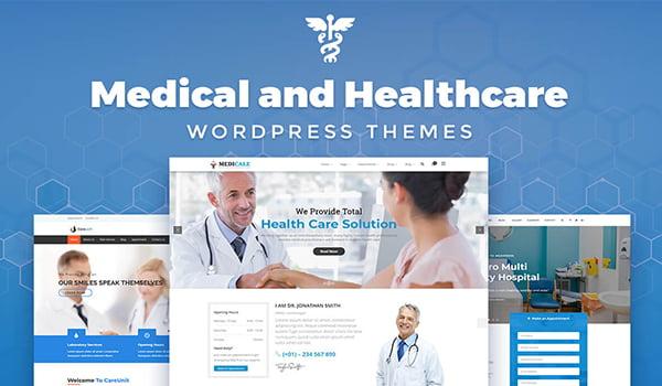 theme hỗ trợ tạo website y tế