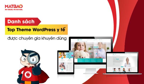 top theme wordpress y tế