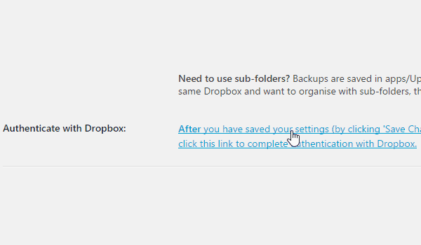 backup wordpress với plugin UpdraftPlus