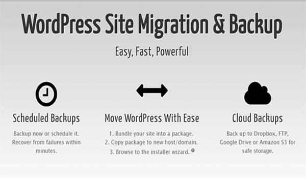 plugin hỗ trợ backup website